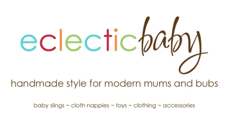 Eclectic baby logo