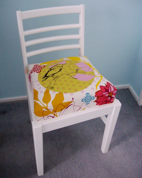 All Things Lovely: A Chair Makeover