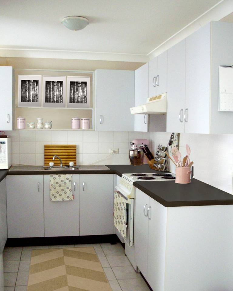 All Things Lovely Kitchen Mock Up – Kitchen Rugs Ikea