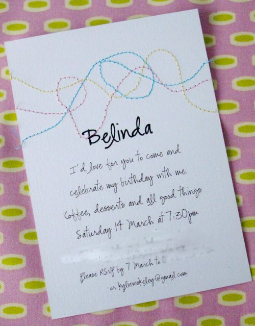 All Things Lovely: Invitations